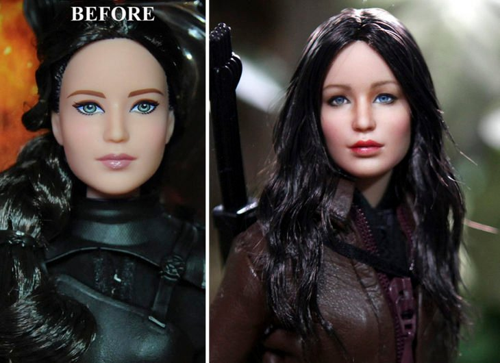 Jennifer Lawrence katniss everdeen doll