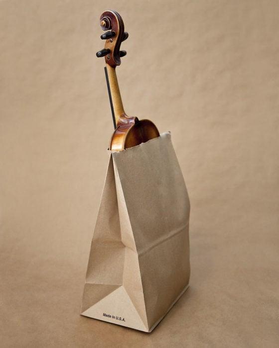 utah prohibido meter violines en bolsas de papel