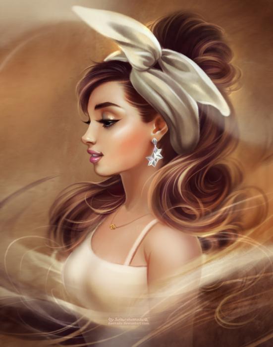 Ariana con pañuelo