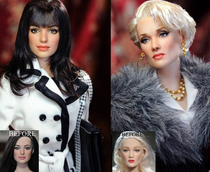 devil's wears prada dolls