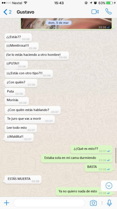 captura de pantalla de whatsapp