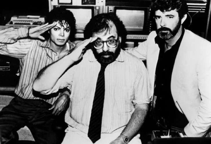 Michael Jackson, Francis Ford Coppola y George Lucas
