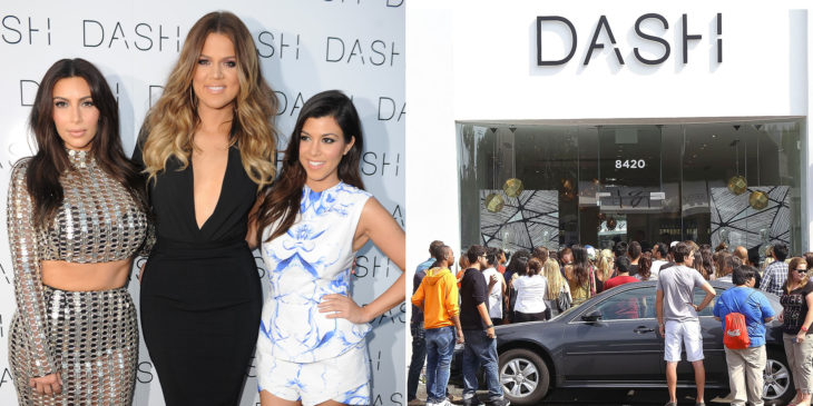 kardashian sisters and dash
