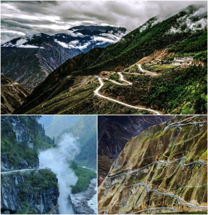 carretera al tibet