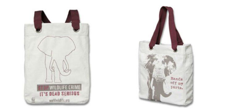 bolsa elefantes wwf