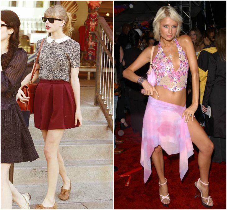 faldas antes y despues