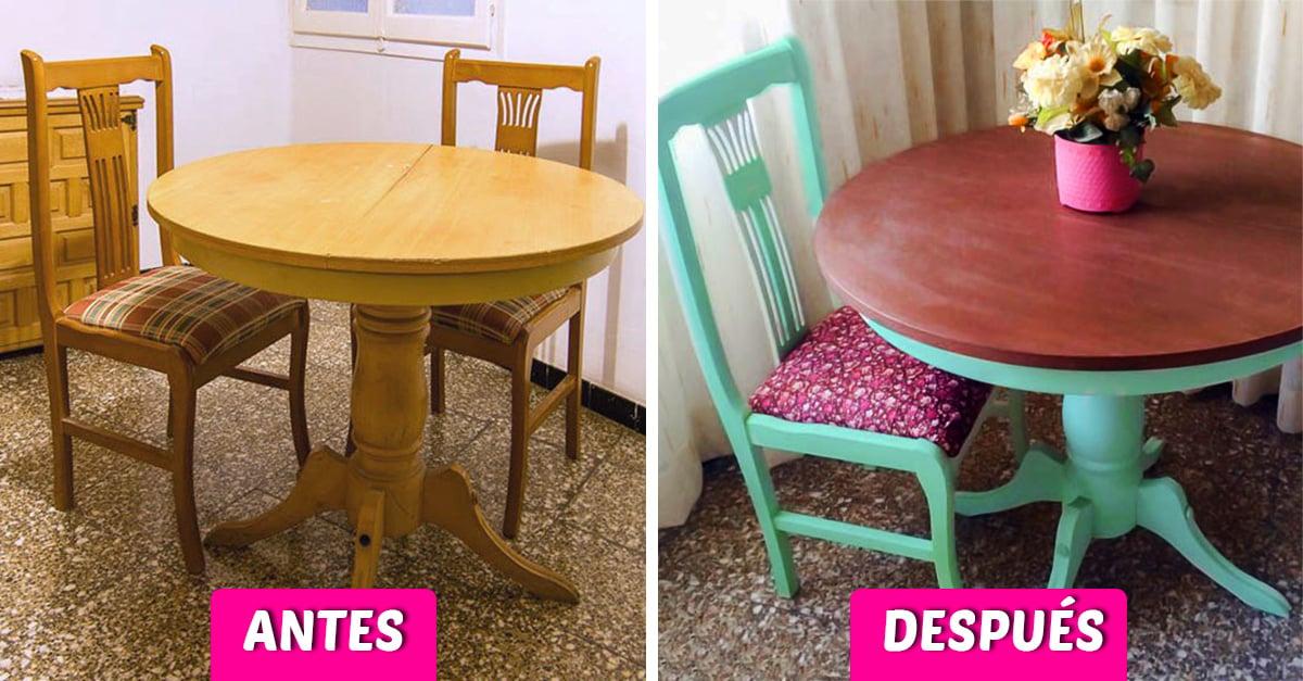 15 Grandes ideas para renovar tus viejos muebles