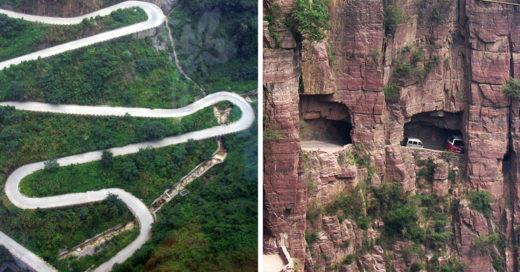 15 Increíbles y peligrosas carreteras del mundo