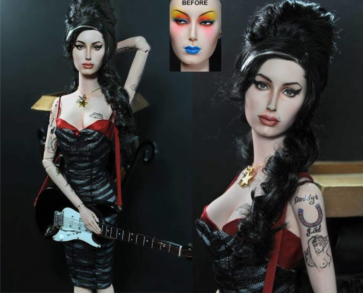 amy winehouse doll