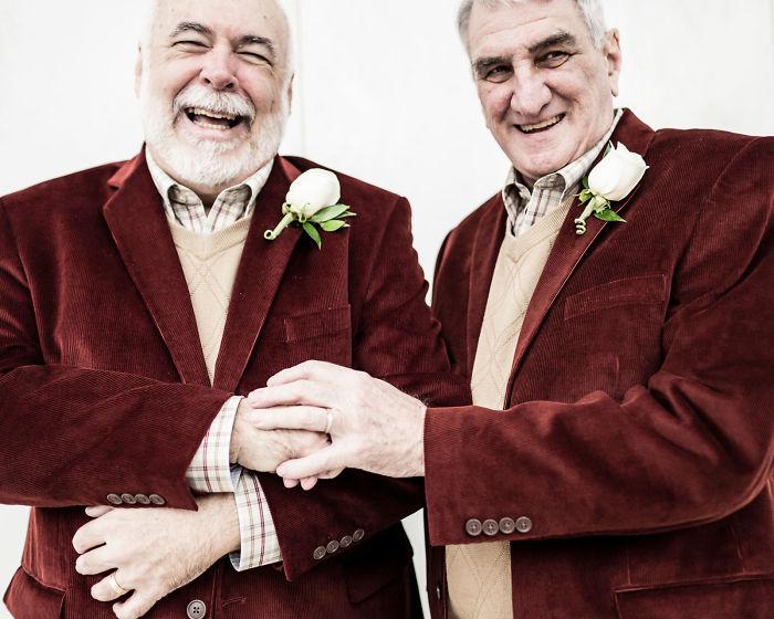 pareja de viejitos gay