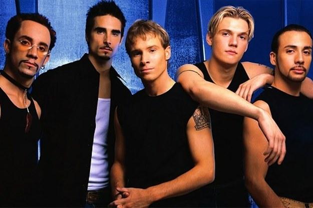 boy band chicos 90s