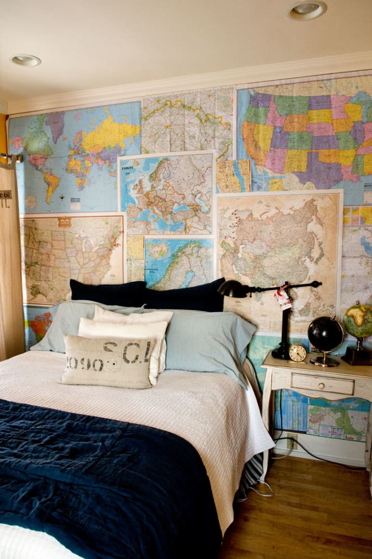 habitacion mapas