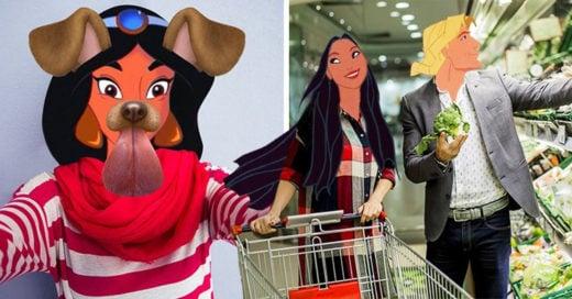 Así serían los personajes de Disney si vivieran en el mundo actual