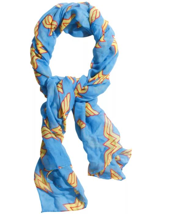 bufanda mujer maravilla