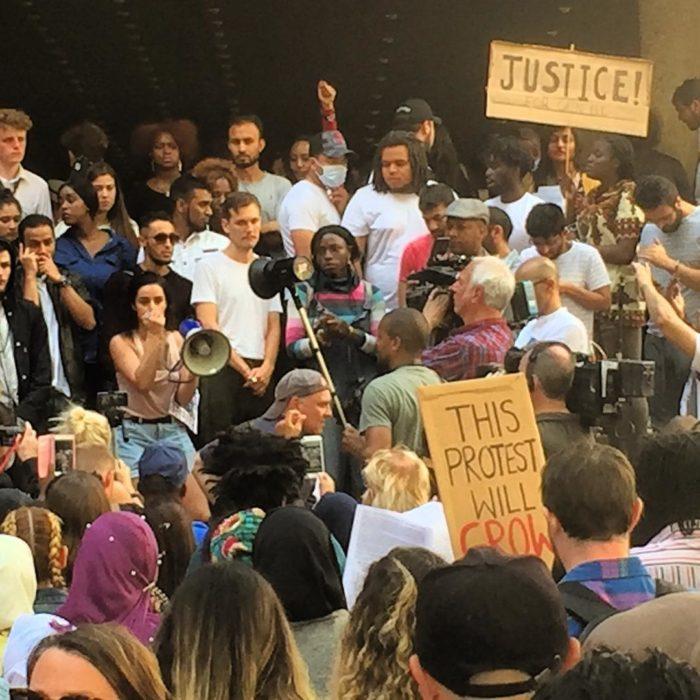 manifestaciones en londres