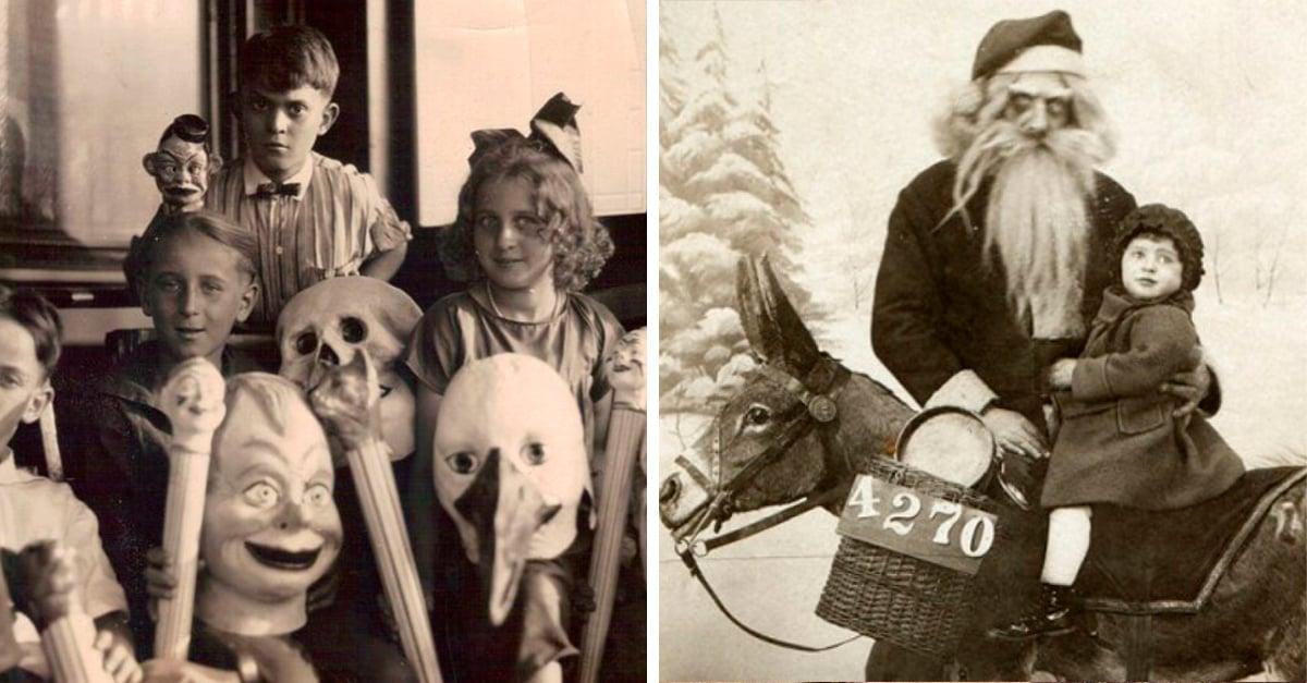 20 Terroríficas fotos antiguas