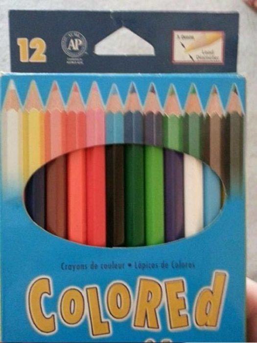 colores mal acomodados