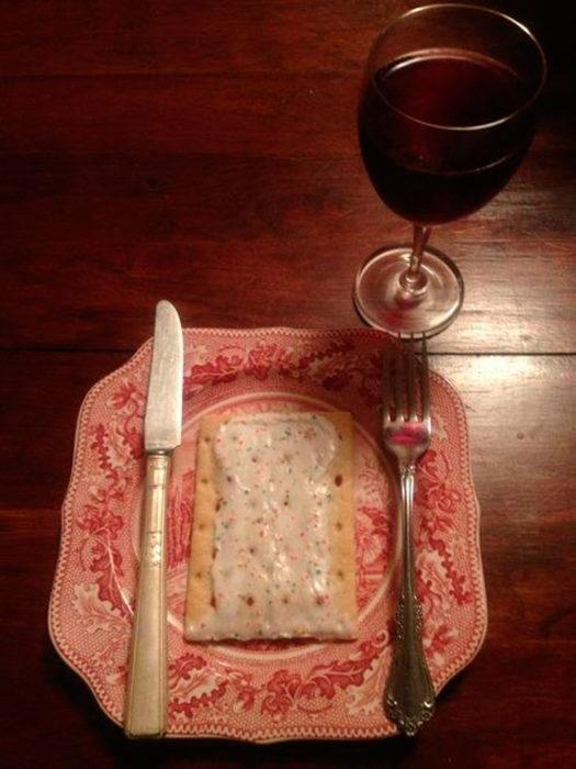 pop tart dinner