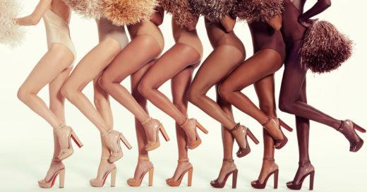 7 tonos de Nude en la nueva colección de Christian Louboutin