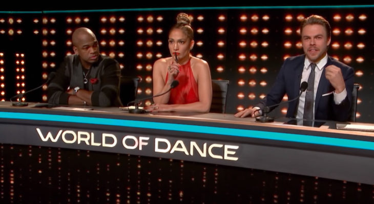 jueces del reality show world dance