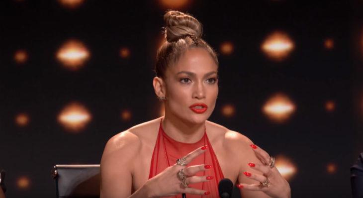 Jennifer Lopez jurado de un show