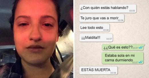 Chica habla de la violencia que vivió con su novio; los mensajes de texto que reveló son alarmantes