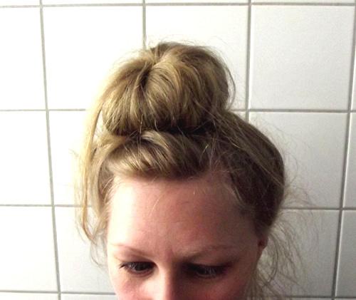 Peinado bun