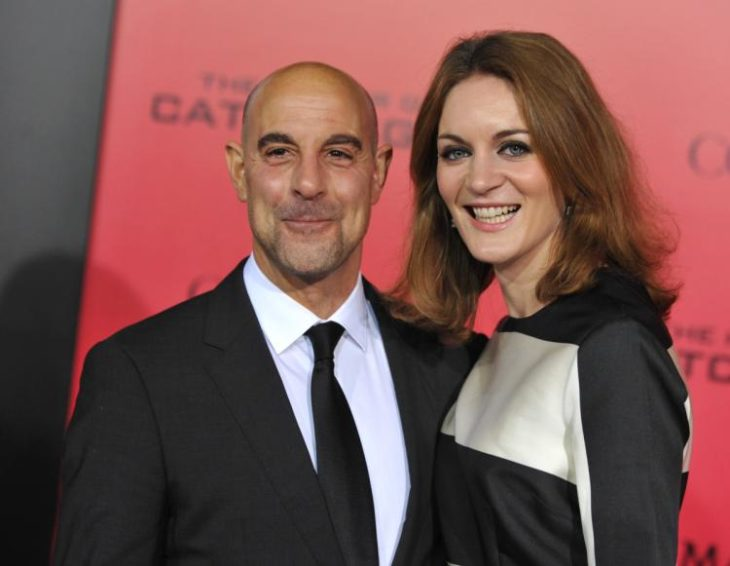 stanley tucci anda wife