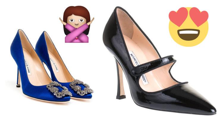 Zapatos de carrie en sex and the city