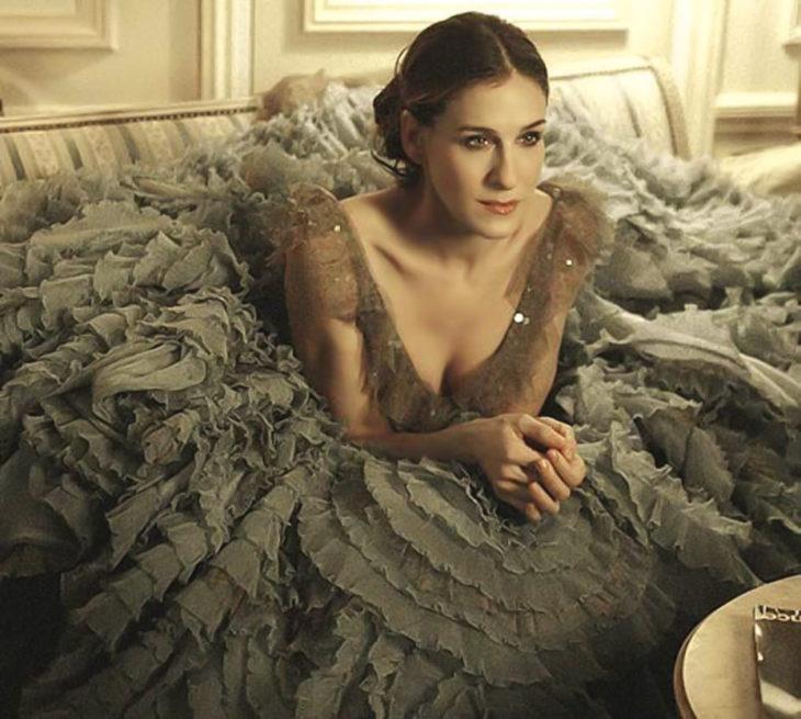Vestido de versace de Carrie
