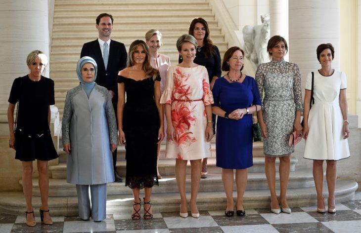 Esposas de diferentes presidentes del mundo