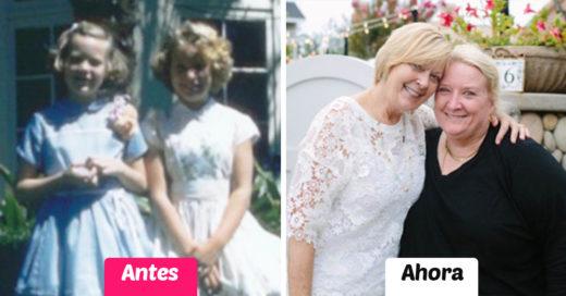 Fotos de amistades antes y ahora