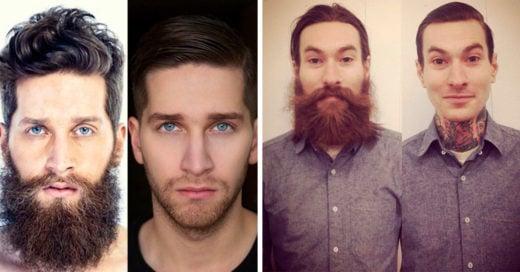 17 'Antes y después' que demuestran por qué el mundo es mejor cuando hay barbas