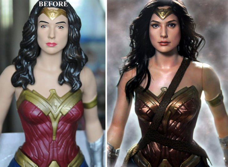 gal gadot wonder woman doll