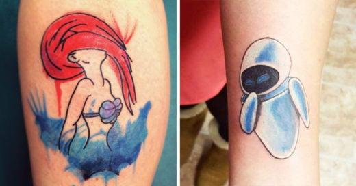 25 Increíbles tatuajes inspirados en las películas que marcaron tu vida; justo en la nostalgia