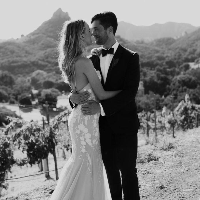 Josh el día de su boda