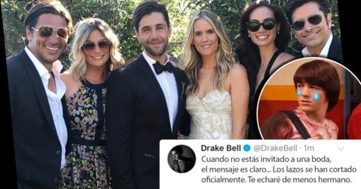 Josh no invitó a Drake a su boda y oficialmente ya no son amigos; nuestra infancia acaba de morir