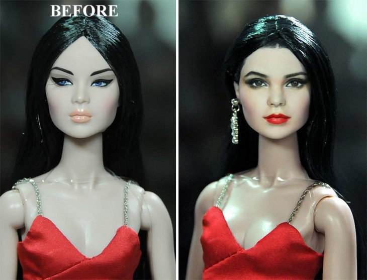 Kendall Jenner doll