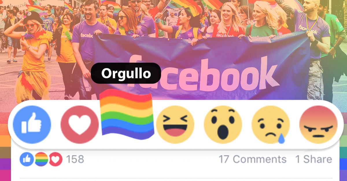 Facebook celebra el mes del Orgullo Gay; agrega una nueva reacción en apoyo a la comunidad LGBTTTI