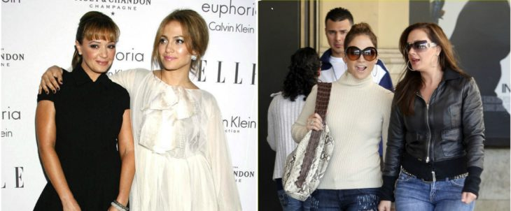 Jennifer Lopez y Leah Remini