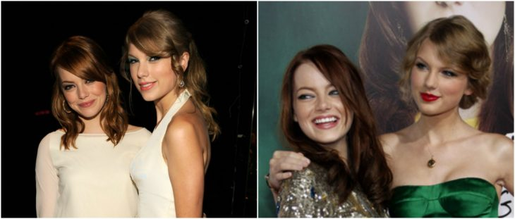 Taylor Swift y Emma Stone