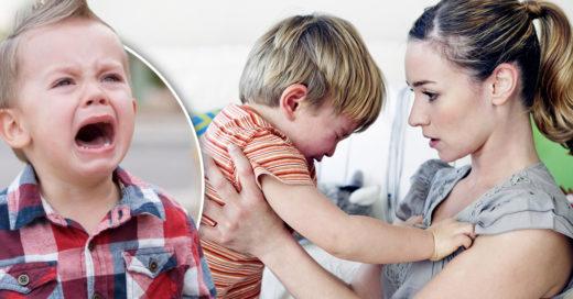 ¡Confirmado! Los niños se comportan peor y son más berrinchudos cuando están con mamá: estudio