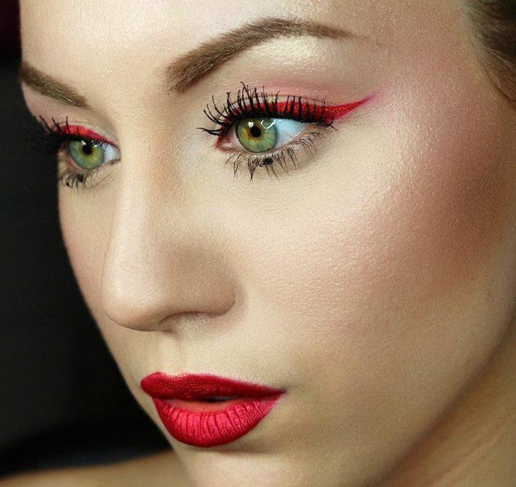 Satisfacciones del maquillaje
