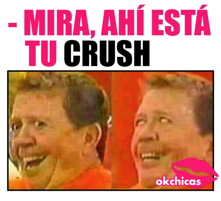 Memes que hablan sobre un crush