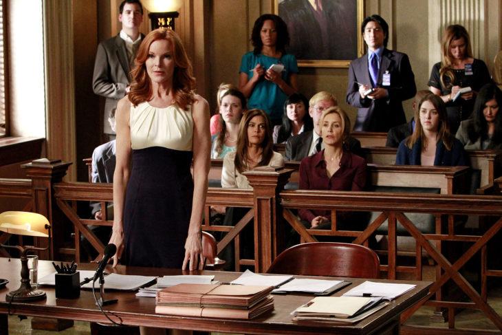 Escena de la serie mujeres asesinas