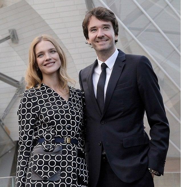 Natalia Vodiánova y Antoine Arnault