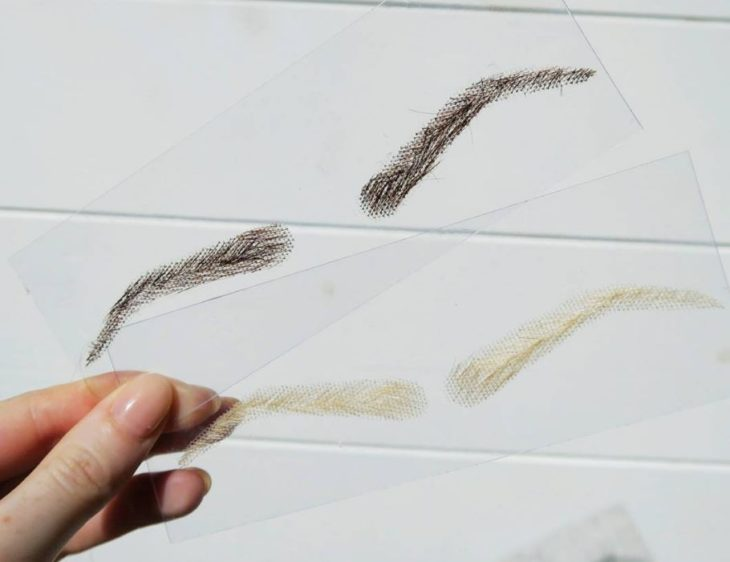 pelucas para cejas
