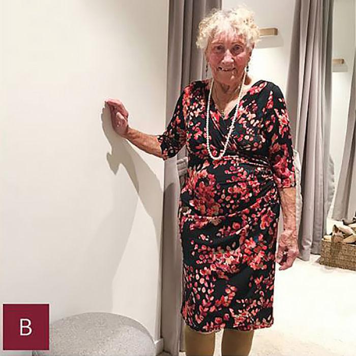 novia de 93 años pidió ayuda para elegir vestido de boda