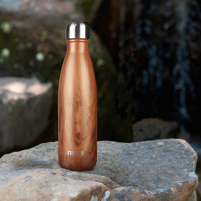 Botella de agua elegante