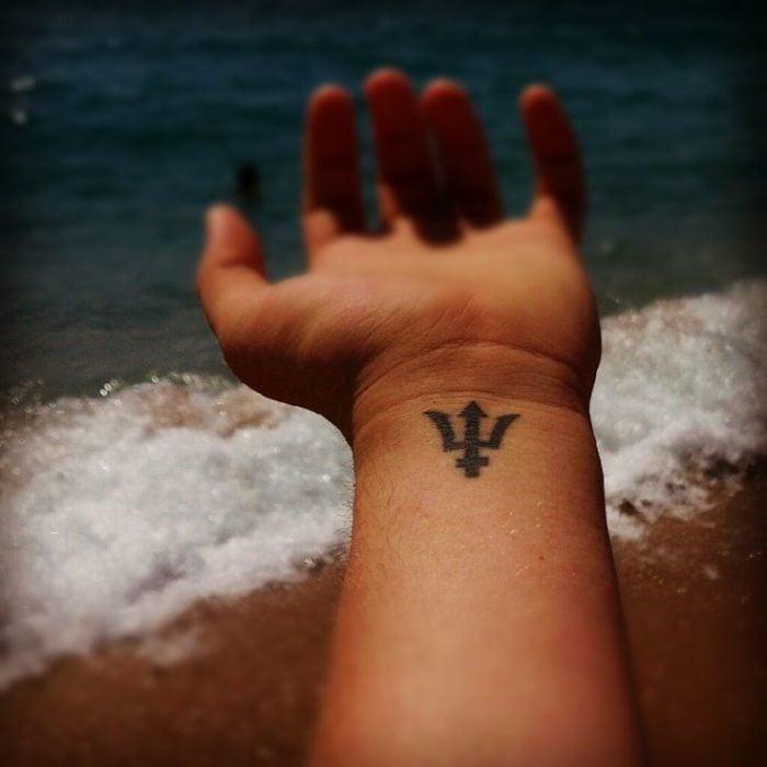 Tatuaje de percy jackson